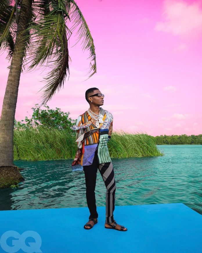 """Wizkid Named """"King of Afropop"""" by GQ"""