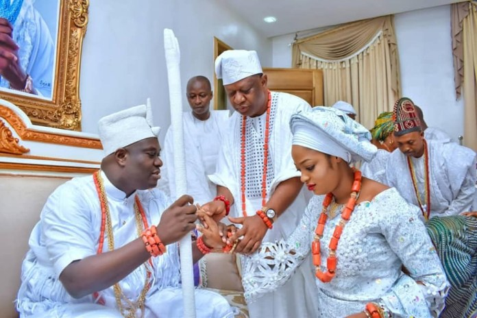Photos From The Ooni Of Ife's Wedding Ceremony