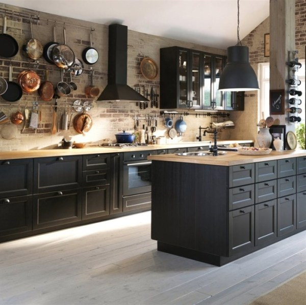 beautiful black kitchen cabinets Kuchnie METOD- co nowego? - kokopelia design : kokopelia
