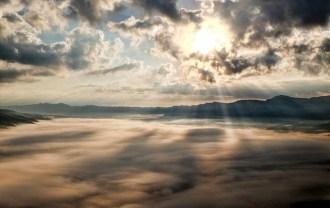 カッコいい雲海の画像
