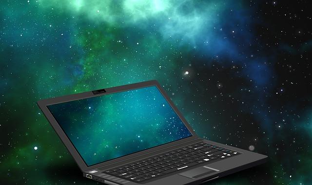 宇宙とパソコン