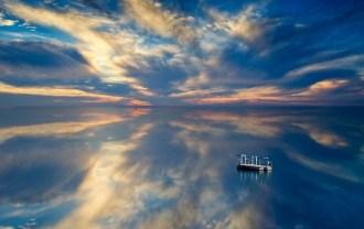 空と海と雲