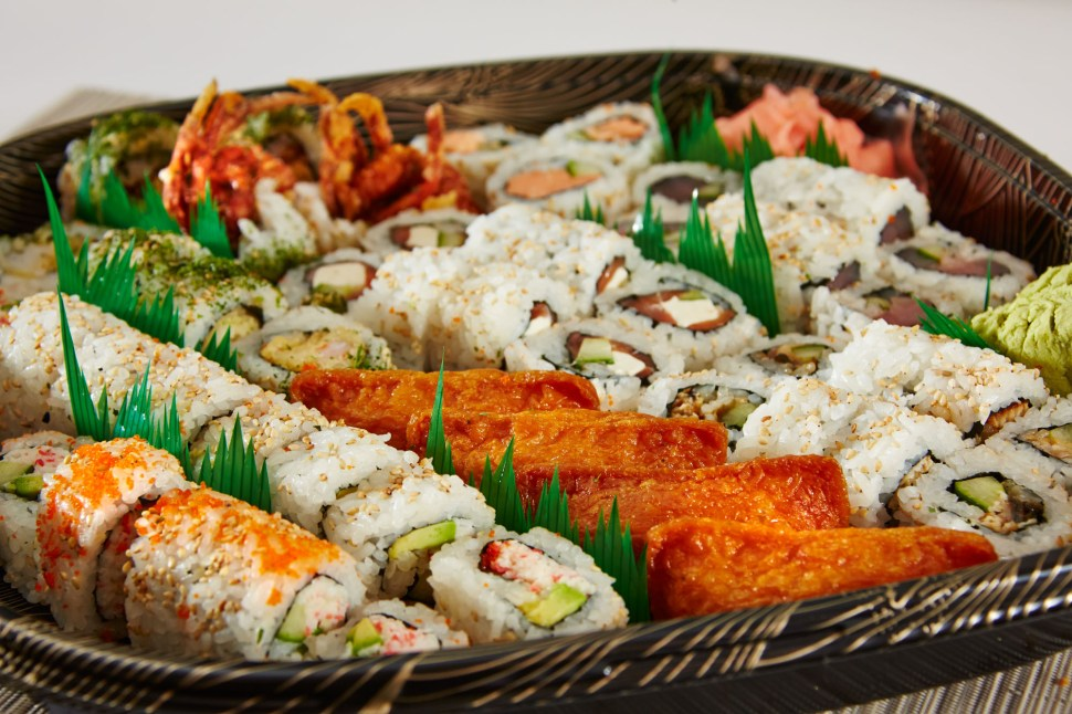 Denver Party Trays, Denver Sushi for a Group, Quick Catering in Denver, Sushi Tray