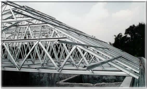 gambar rangka atap baja ringan limasan uncategorized koko truss