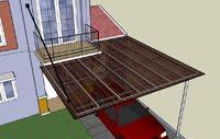 kanopi gantung baja ringan rangka atap semarang buanatruss