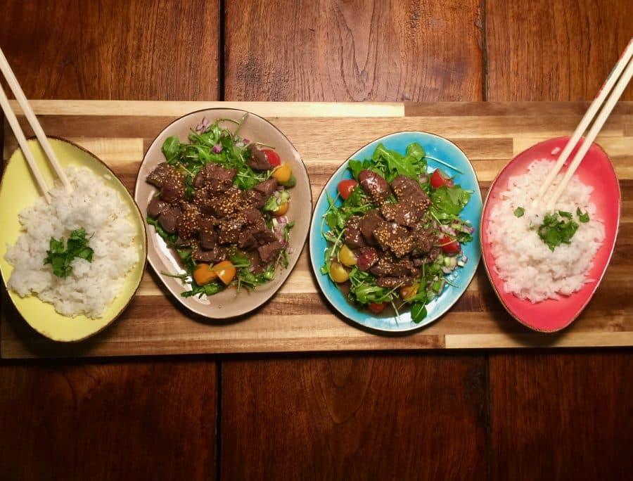 Vietnamese Shaken Beef