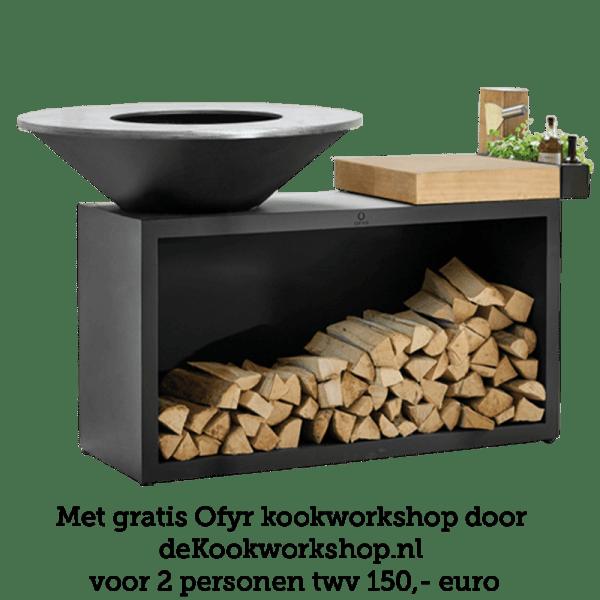 OFYR Island Black 100 Teak Wood
