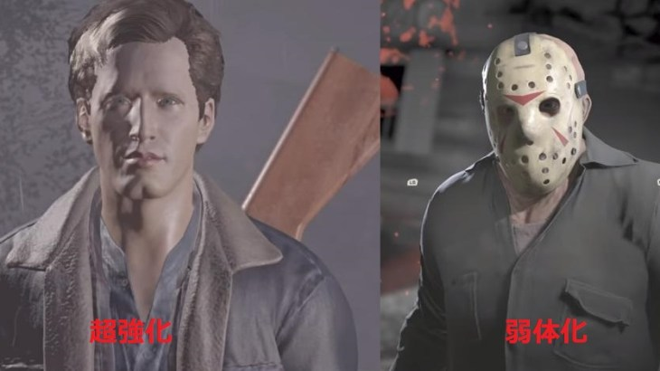 Friday the 13th The Game(13日の金曜日)がアップデート!「フォックス追加」「トミー強化」「ジェイソン弱体化」他多数【10月26日】