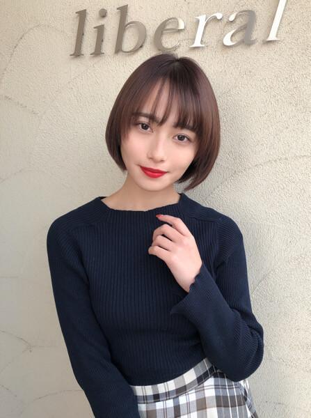 福井萌子さんをカットトリートメントでツルツルに!