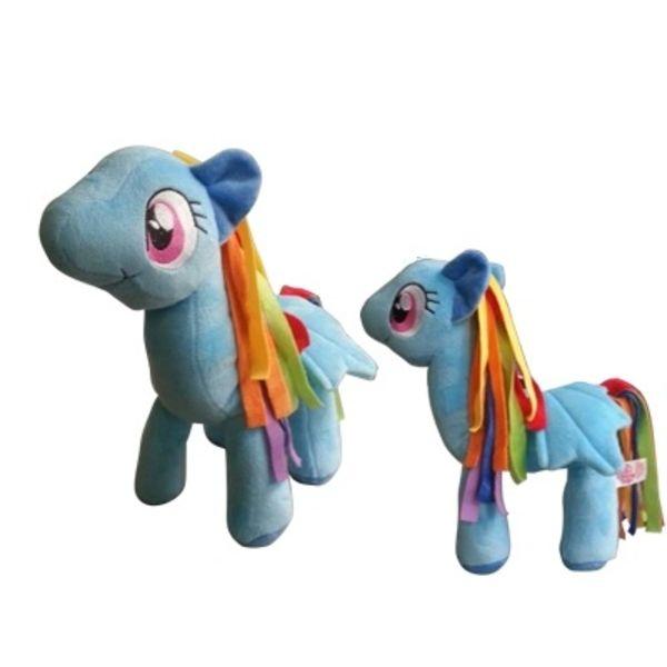 plush doll rainbow dash