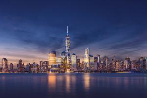 海外旅行や海外移住先として人気があるニューヨークの夜景