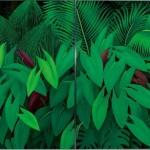 <熱帯植物園>194×324cm