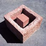 55×80×75cm インド砂岩