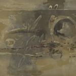 木版 (100 x 130cm )
