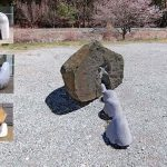 100×100×100cm 安山岩、大理石