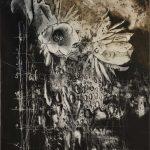 銅版画 (90 x 70cm)アクアチント