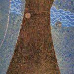 木版 ( 130cm X 100cm)