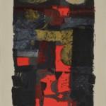 木版 ( 95 x 34cm )