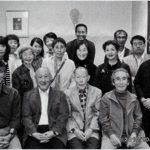 川西先生米寿お祝いの会(川西祐三郎先生:前列左から三人目)