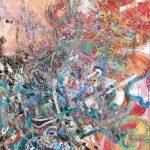 <狩の歌Ⅱ> 192×163cm