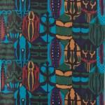 岸本花弥子(染) ホウセキゾウムシ(森色) 97×398