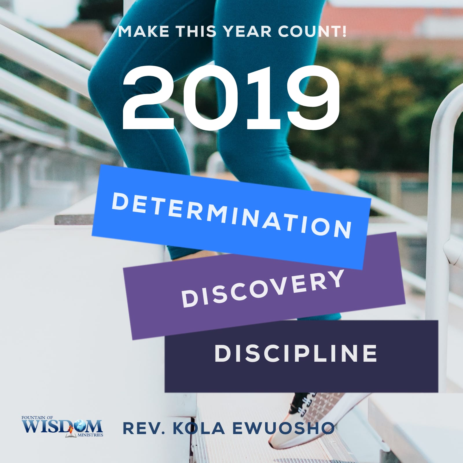 determination, discovery, discipline