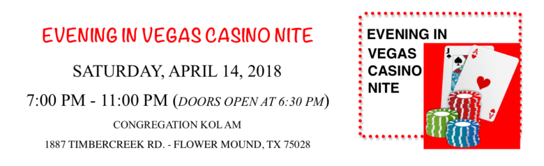 Evening in Vegas Casino NIte