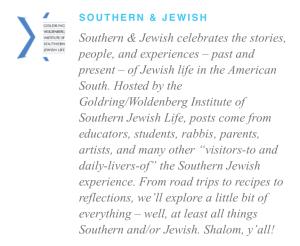 Southern & Jewish