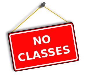 Religious School Closed