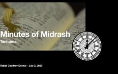 Minutes of Midrash - Tanhuma