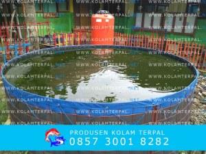 kolam terpal bulat