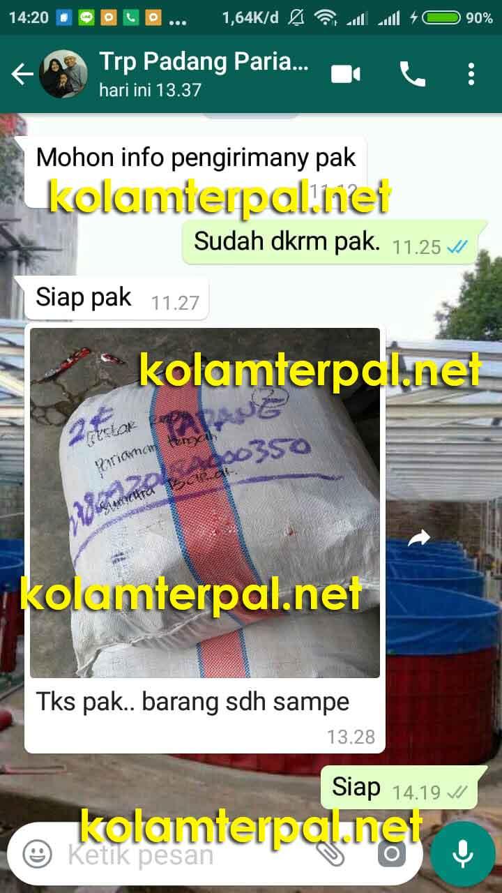 Testimoni Jual Kolam Terpal koamterpal.net 2