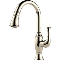 Buy Brizo 63003LF Single Handle Pull-Down Kitchen Faucet ...