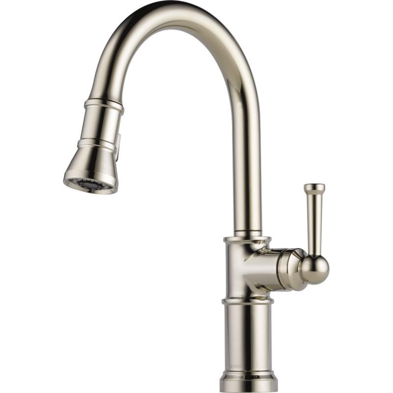 Buy Brizo 63025LF Single Handle PullDown Kitchen Faucet