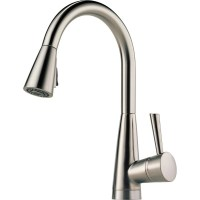 Buy Brizo 63070LF Single Handle Pull-Down Kitchen Faucet ...