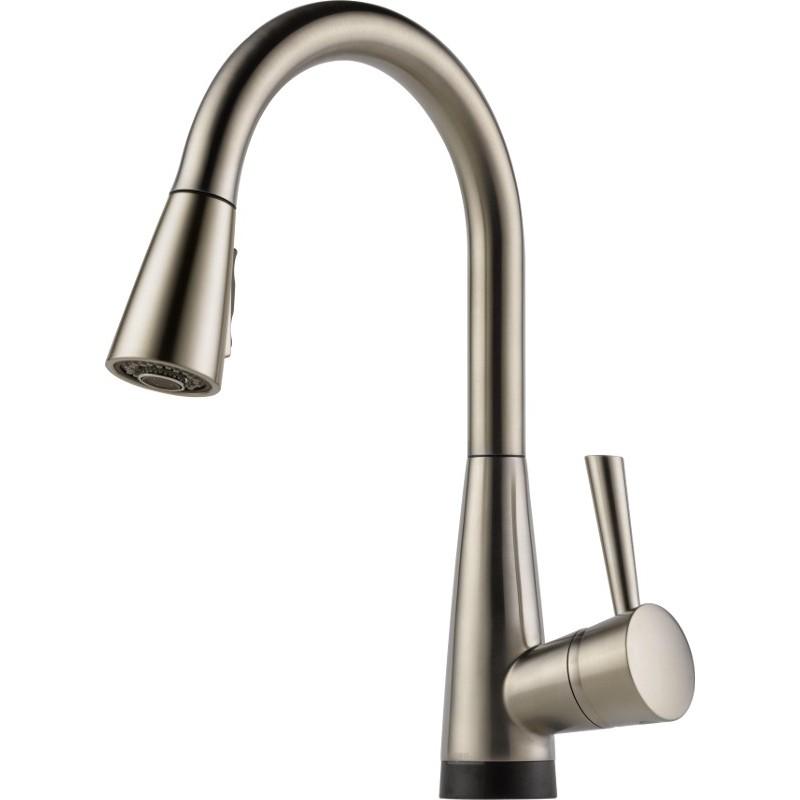 Buy Brizo 64070LF Single Handle PullDown Kitchen Faucet