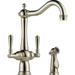 Blanco Kitchen Faucet Replacement Parts Small Remodeling Ideas Buy Brizo 62136lf Two Handle With Spray At ...
