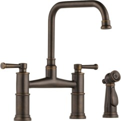 Hansgrohe Kitchen Faucets Interior Design Buy Brizo 62525lf Two Handle Bridge Faucet With ...