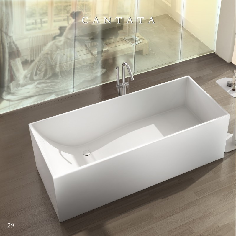 hansgrohe kitchen faucets ikea table with drawers buy virta cantata free standing stone bathtub at discount ...