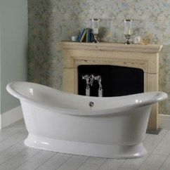 Brizo Kitchen Faucets Design Center Buy Victoria + Albert Marlborough Dual Ended Tub And White ...