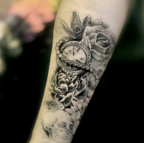 Tatouage Avant Bras Femme Mandala Rose 15 Amazing Picture