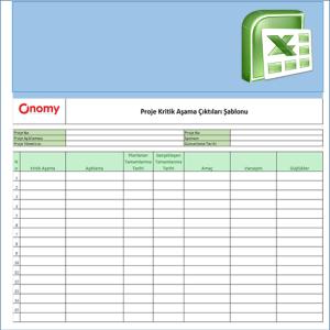 Onomy Proje Set 1 - Proje Kritik Aşama Çıktıları
