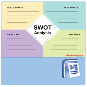 swot analiz word şablonu 3