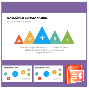 İnfografik Power Point Şablonu
