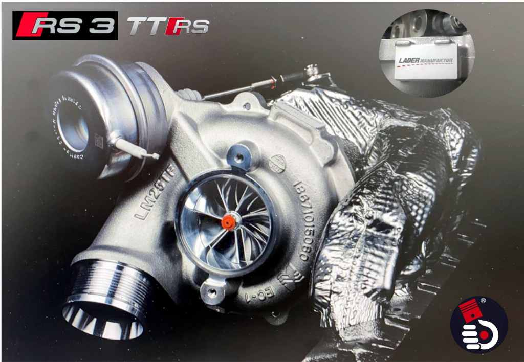 LM700 Turbo Upgrade AUDI DAZA RS3 8V RS 3 TT RS 8S 8J TTRS Hybrid Upgradelader Turbocharger Ladermanufaktur KolbenKraft Tuning Global Vertrieb