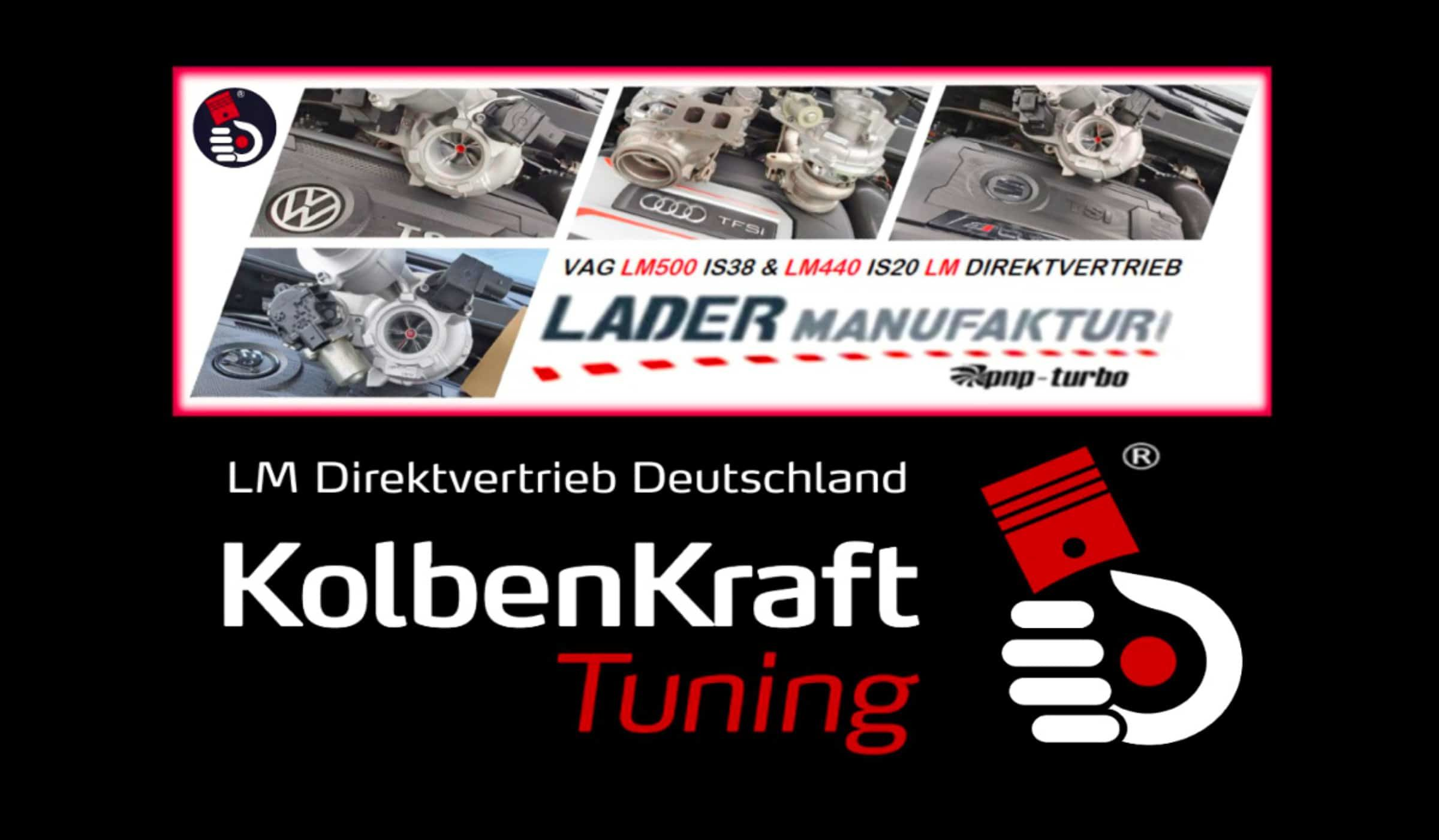 KolbenKraft Tuning | LM Turbo Distribution der Ladermanufaktur