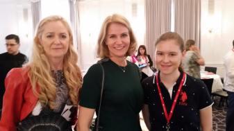 2016-17 Kolbrún, Helle og Herdís á Alþjóðafundi Save the Children í New York 2016