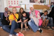 2017-18 Í Zaatara flóttamannabúðunum í Jórdaníu í tengslum við Alþjóðafund Save the Children 2017 (4)