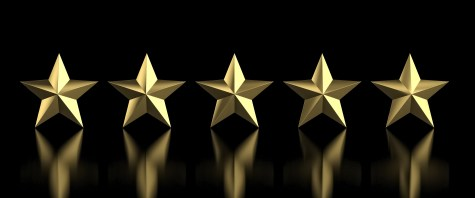 5 golden star