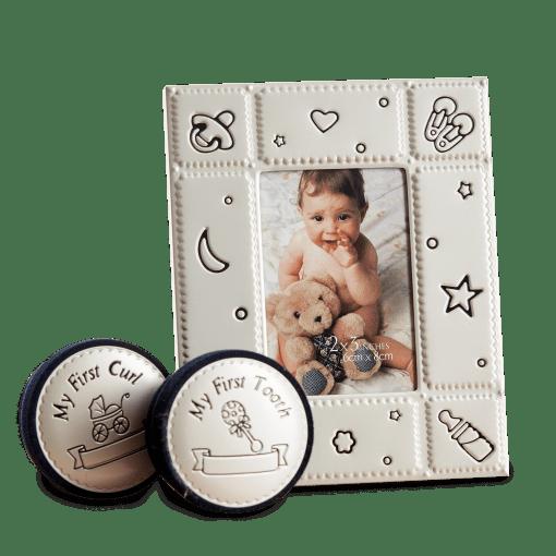 Sød børneramme som gaveæske designet af Kids by Friis - Danish Design (GS11A-PSK1-T3) | Koldsø Fotografi Webshop